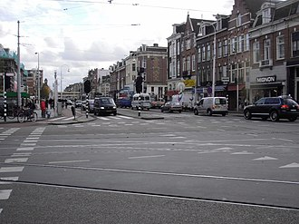 Amsterdam-Oost - Linnaeusstraat, Oosterparkbuurt.