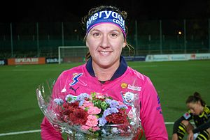 Lisa De Vanna - De Vanna with Linköping in 2012