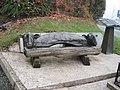 Llanfihangel-yng-Ngwynfa millennium seat - geograph.org.uk - 1574275.jpg