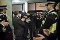 Llegada al John Mackintosh Hall de Fabián Picardo en la mañana en que se conocerán los resultados de las elecciones generales de Gibraltar (23240150342).jpg