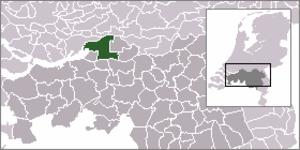 Sleeuwijk - Image: Locatie Werkendam