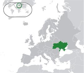 우크라이나의 위치