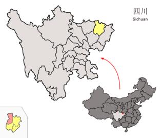 Nanjiang County County in Sichuan, Peoples Republic of China