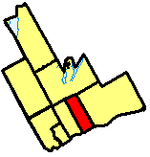 Location of Oshawa City in Durham Region.png