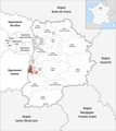 Locator map of Kanton Saint-Fargeau-Ponthierry 2019.png