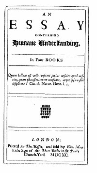 Essay on human understanding published in 1690 was written by