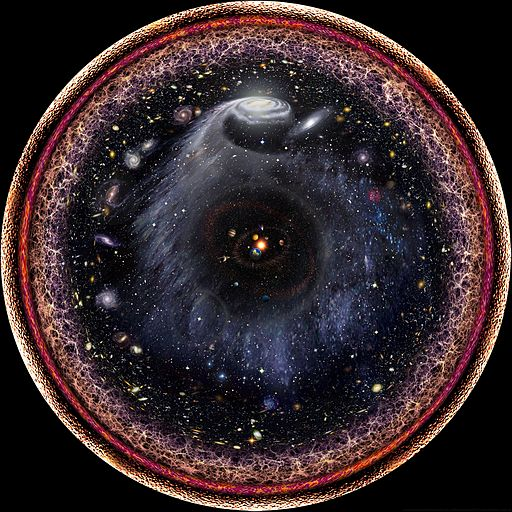 Logarhitmic radial photo of the universe by pablo budassi 9MFK