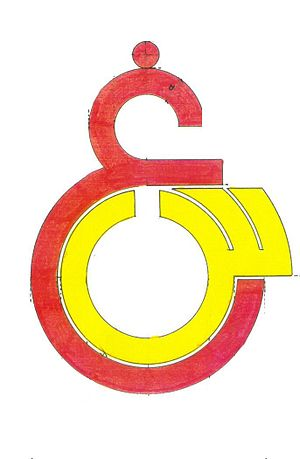 Galatasaray High School - Second logo of GSL