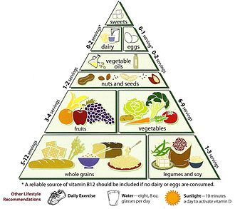 Vegetarian Diet Pyramid - Loma Linda University Vegetarian Food Pyramid