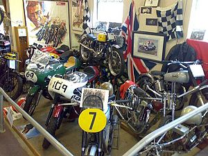 London Motorcycle Museum - The Museum's collection of racing motorcycles