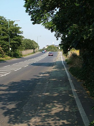 A226 road - A226 Heading from Dartford toward Gravesend