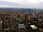 Looking North from CN Tower, Toronto, Ontario (21217476384).jpg