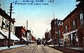 Looking south on 7th and Willamette St, Eugene, 1909 (7838963806).jpg