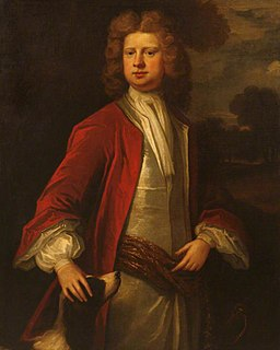 Richard Edgcumbe, 1st Baron Edgcumbe English politician (1680-1758)