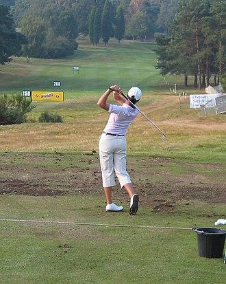 Lorena Ochoa - Ochoa golf swing in 2004