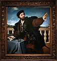 Lorenzo lotto, ritratto d'uomo, forse girolamo rosati, 1533-34, 01.jpg
