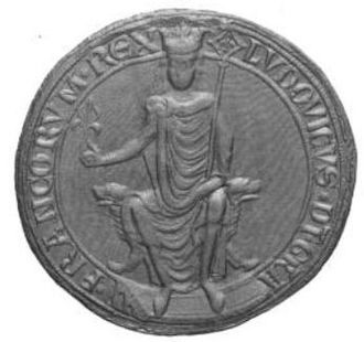 Louis VIII of France - Louis VIII's seal