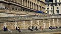 Lounging on the Quai, Paris 30 May 2015.jpg