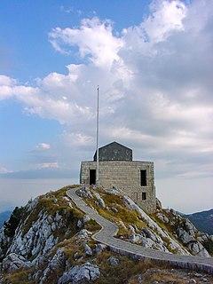 Mausoleum of Njegoš Mausoleum of Petar II Petrović-Njegoš