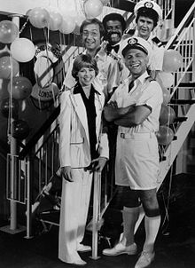 alt=Description de l'image Love boat cast 1977.JPG.