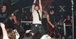 Lovex (music band) in Dresden 2008.jpg