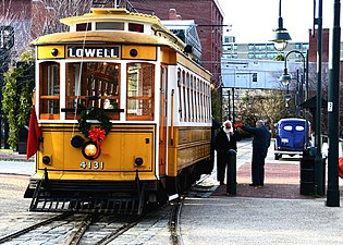 Lowell trolley with wreath.jpg