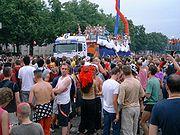 Nature One Truck auf der Loveparade 2002