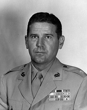 Leo J. Dulacki - Dulacki as lieutenant colonel following Korea