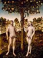 Lucas Cranach d.J. - Der Sündenfall.jpg