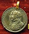 Lucas richter, med. di massimiliano II imp. e maria d'asburgo, 1577, arg. dorato.JPG