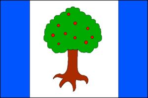 Luhačovice - Image: Luhacovice vlajka