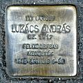 Lukács András stolperstein (Budapest-02 Kavics u 2a).jpg
