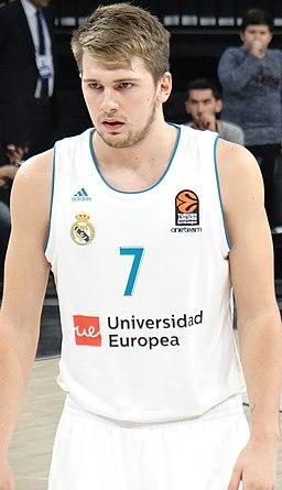 Luka Dončić 7 Real Madrid Baloncesto Euroleague 20171012