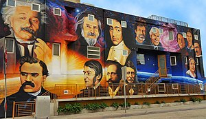 "Pantheism - Levi Ponce's ""Luminaries of Pantheism"" in Venice, California for The Paradise Project."