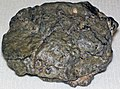 Lunaite (lunar troctolite) (Northwest Africa 8687 Meteorite) 2 (17199472049).jpg