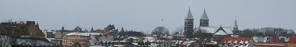 Lund skyline februari 2005