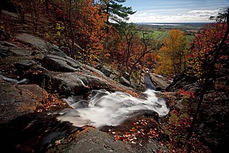 National Capital Commission - Luskville Falls in Gatineau Park, in fall