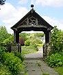 The Lychgate of All Saints' Church, Hollingbourne, Kent