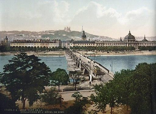 Lyon pont guillotiere congres