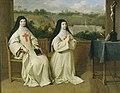 Mère Angélique Arnauld and Mère Agnès Arnauld at Port-Royal, by Philippe de Champaigne.jpg