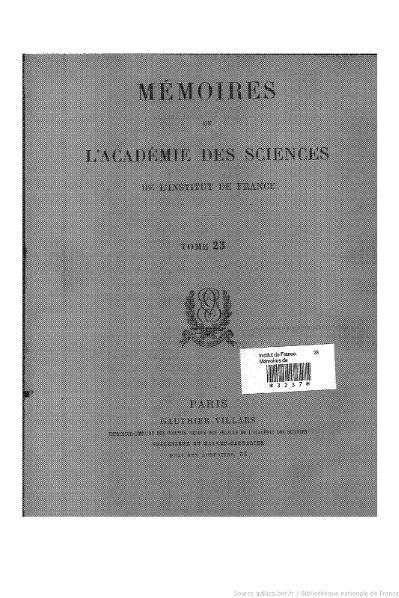 File:Mémoires de l'Académie des sciences, Tome 23.djvu