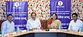 M. Venkaiah Naidu and the Chief Minister of Rajasthan, Smt. Vasundhara Raje Scindia in a review meeting of the Information & Broadcasting Media Unit, in Jaipur.jpg
