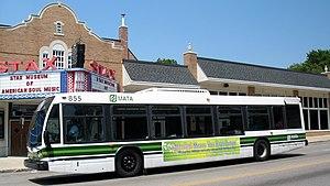 Memphis Area Transit Authority - Image: MATA bus 855