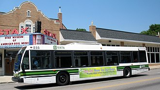 Memphis Area Transit Authority - Image: MATA bus 855