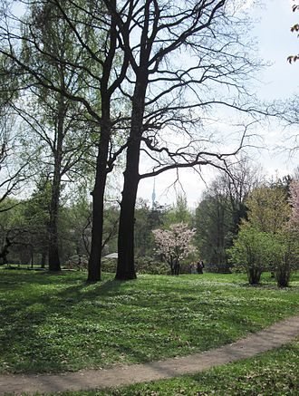 Moscow Botanical Garden of Academy of Sciences - Image: MBGAS