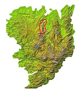 chaîne des puys carte Chaîne des Puys — Wikipédia