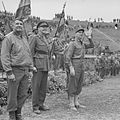 MG Geoffrey Keyes, Gen. A.L. Collier and general Alphonse Juin in Pompei.jpg