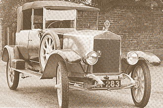 Albert (automobile) - 1920 Albert 12hp