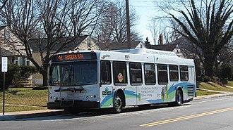 Route 44 (MTA Maryland) - Image: MTA Maryland 9011 44