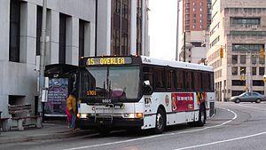 MTA Maryland bus service